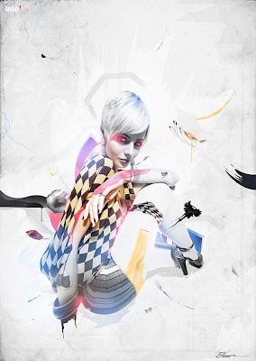 trabajos creativos arte digital inspiracion