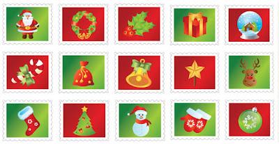 navidad iconos