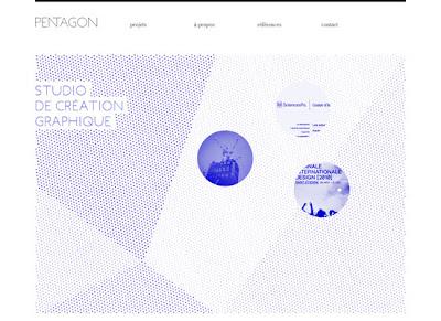 sitio web minimalista
