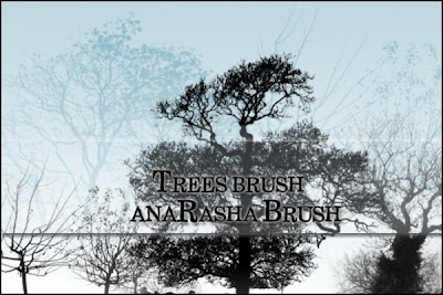 arbol pincel photoshop