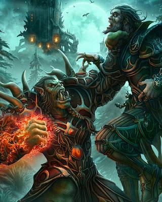 increibles ilustraciones inspirados en Warcraft