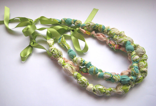 Bead and Knot Necklace