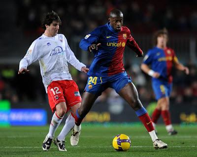 Yaya Touré quitte le Barca