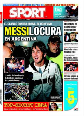 The return of Messi to Rosario