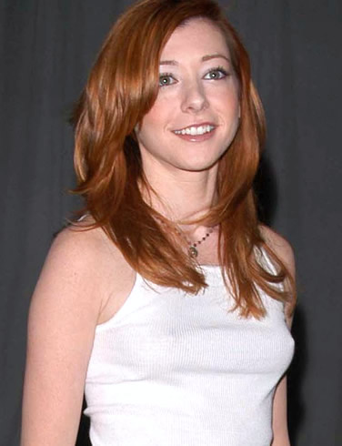 alysson hannigan breast