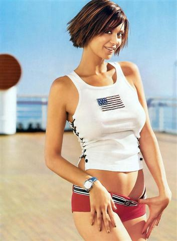 catherine bell breast size