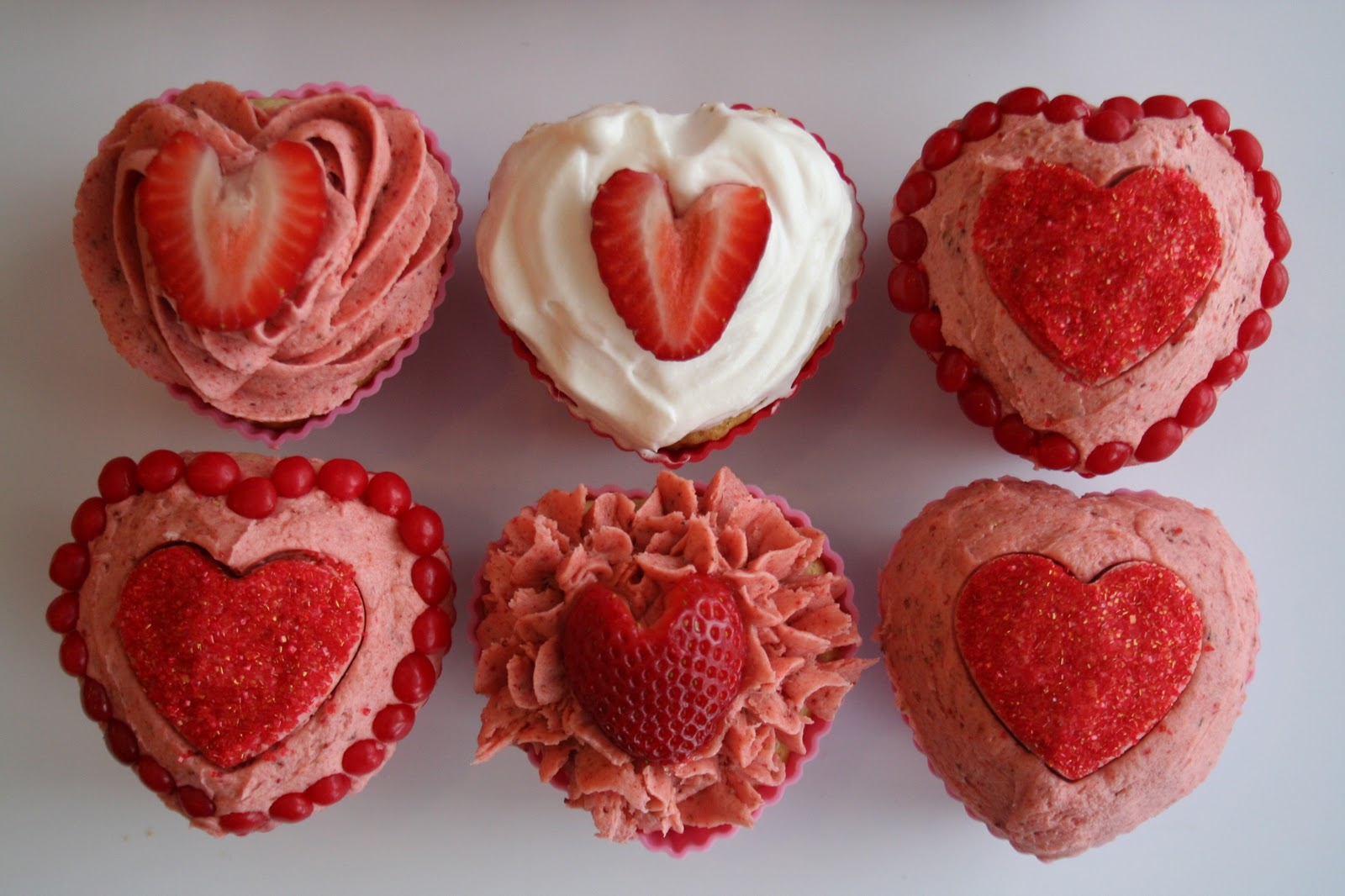 Growing Up Veg: Strawberry Shortcake Cupcakes for Your Vegan Valentine