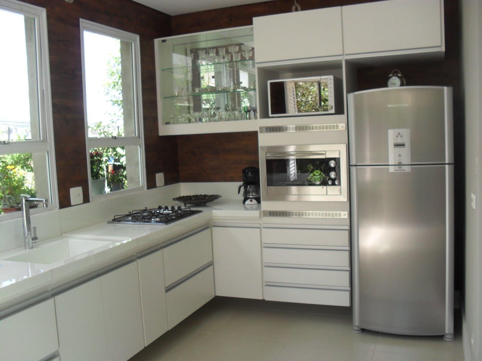 foto cozinha casa Thaís Designer de Interiores #312B26 1600 1200
