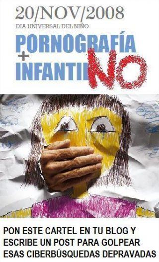 PORNOGRAFÍA INFANTIL NO