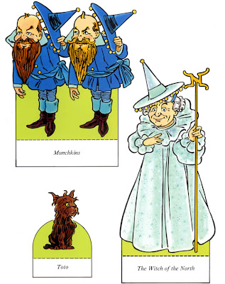 Wizard of Oz Paper Dolls Cricut