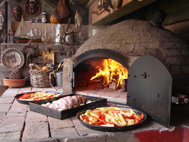 Hornos de barro construcci n taringa - Cocinar en la chimenea ...