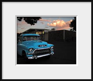 1957 Blue GMC Pickup Truck