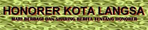 Honorer Kota Langsa