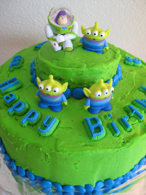 Buzz Lightyear Cake