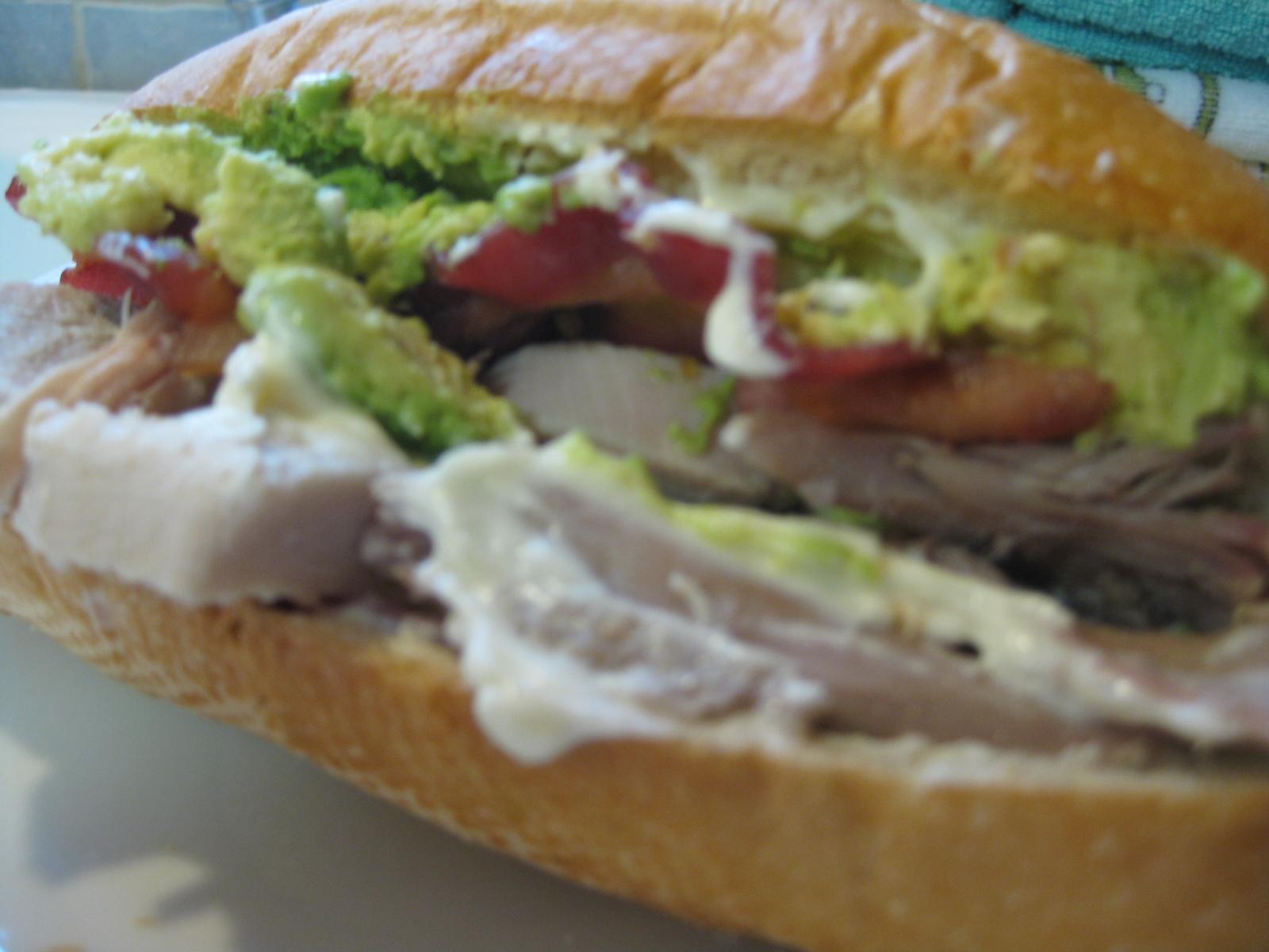 Heidi 39 s recipes leftover turkey sandwich recipe for Thanksgiving turkey sandwich recipe