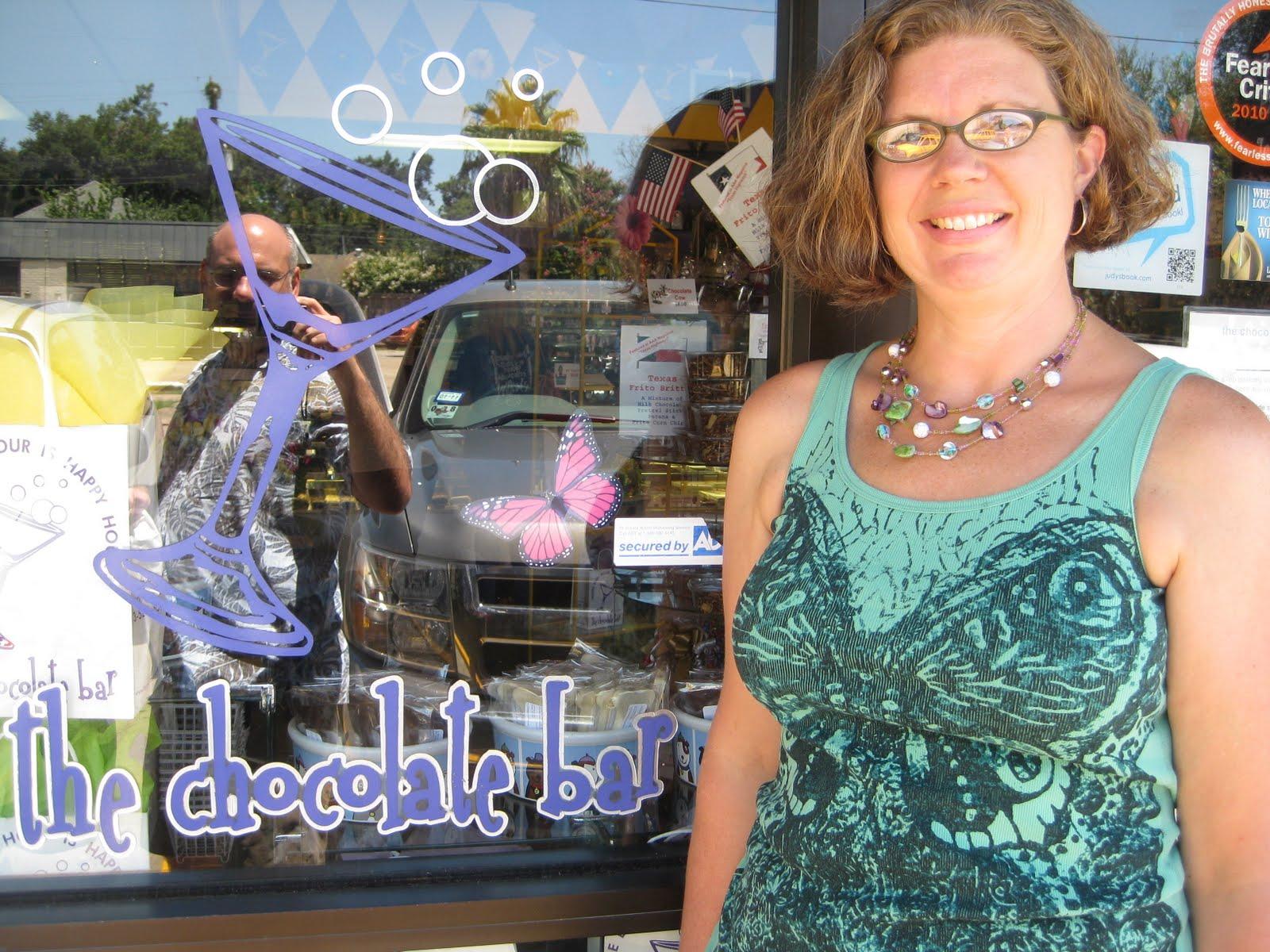 Heidi's Recipes: The Chocolate Bar in Houston Texas
