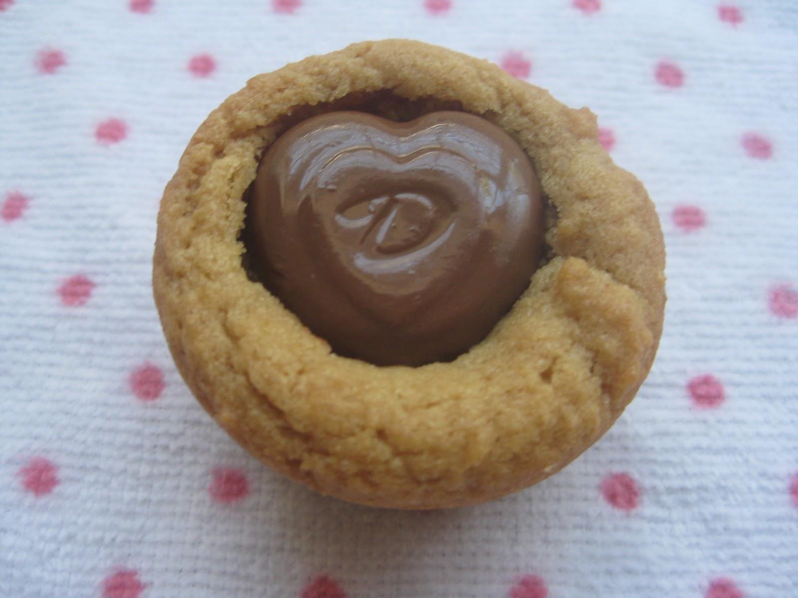 Heidi's Recipes: Peanutty Valentine Cookies Recipe