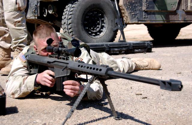 Arma para combate intenso nos morros