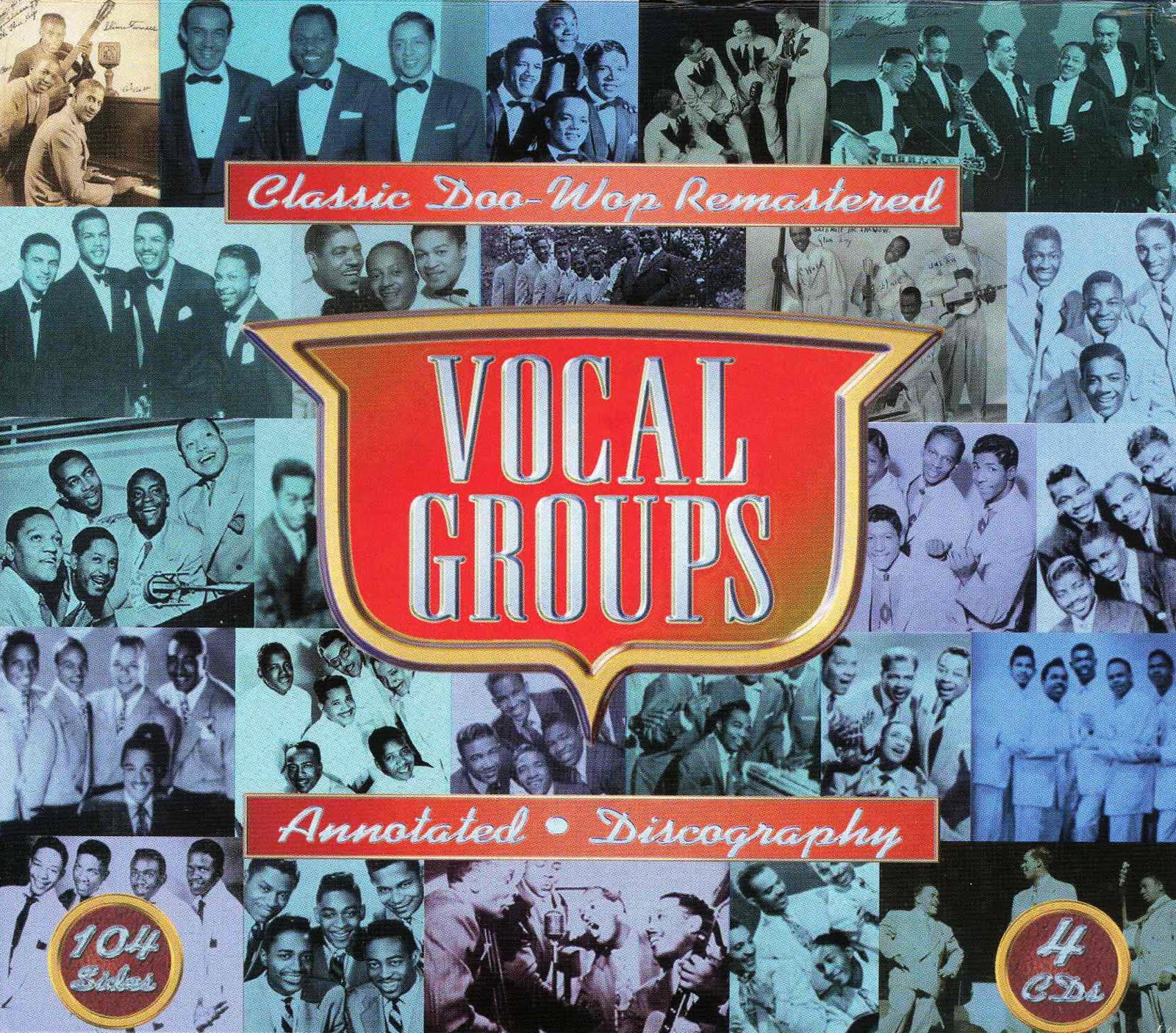 Oldies but goodies vocal groups classic doo wop remastered for Classic house vocals acapella
