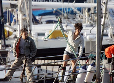 Olivier Martinez and Halle berry - Dark Tide Movie