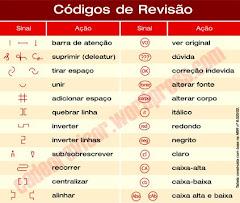 Alguns códigos de revisão