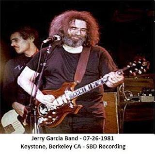 Jerry Garcia Band - 1981-07-26 - Berkeley, CA