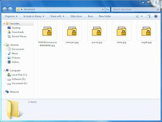 Download Encryptonclick : Software Untuk Mengunci Folder Atau File