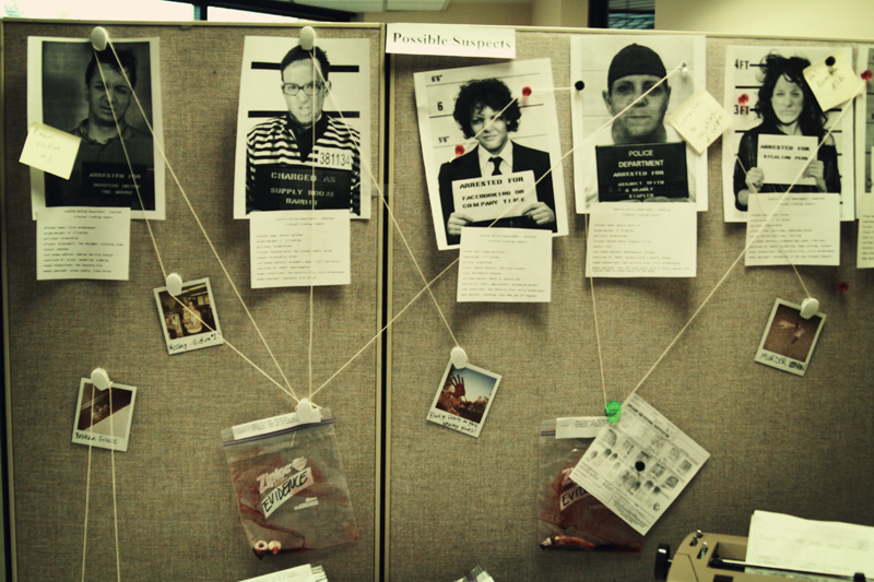 Decorating Ideas > Little Gray Fox Halloween At The Office CSI ~ 072416_office decorating ideas for halloween