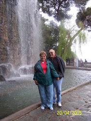 Lee & I in Nice France