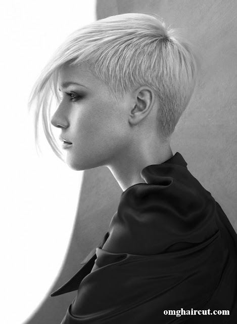 shanehenningg hair Razor Cut Short Hair Styles