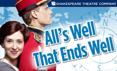 an experience and review of the play alls well that ends well at the chicago shakespeare theatre Theatre 101 midterm study  alls well that ends well by shakespeare farce  ranging from journalistic play reviews to scholarly analyses of dramatic genres .