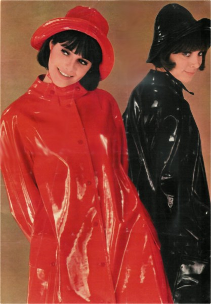 rainwear Fetish plastic pvc