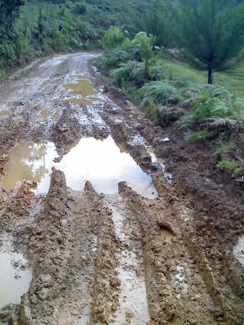 carreteras afectadas por el invierno