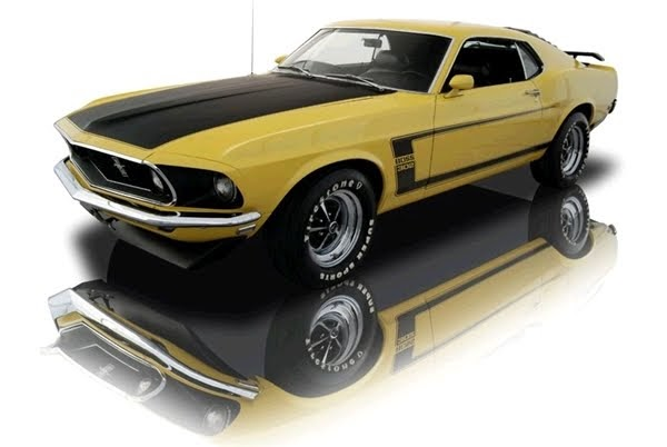 Featured Cars For Sale: 1969 Ford Mustang Boss 302 V8 - Muscle Car For Sale (Click Here)