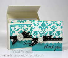 3X3 Slant Top Box & Card Set