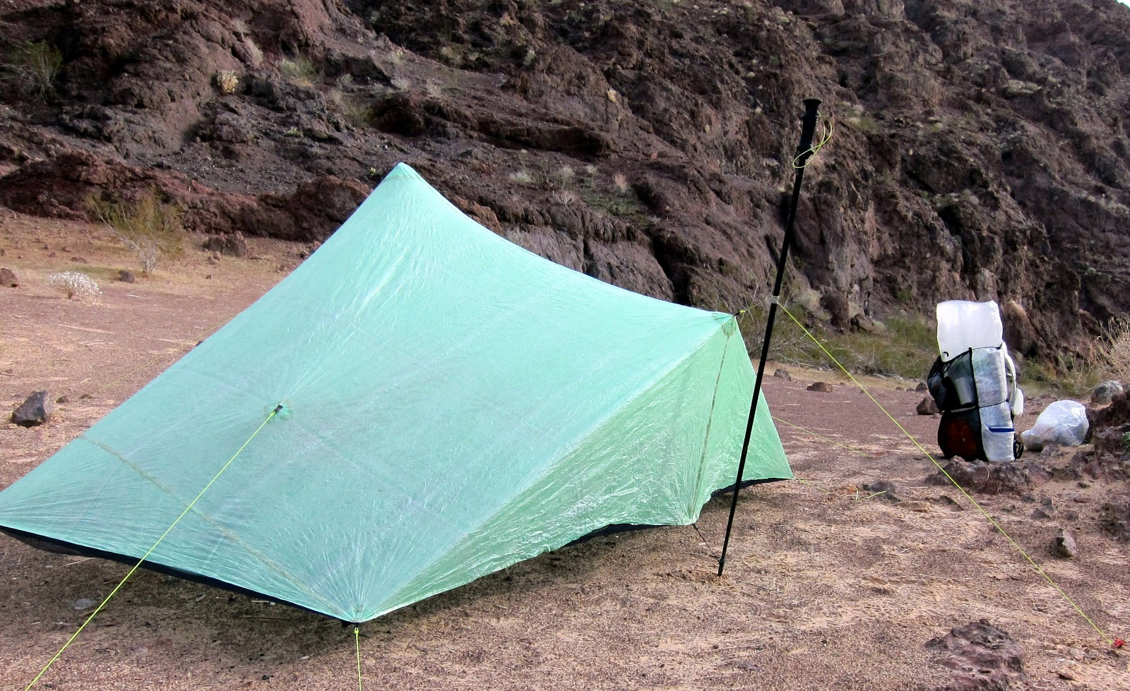 Mountain UltraLight: Product Review  ZPacks™ Hexamid Twin Tent