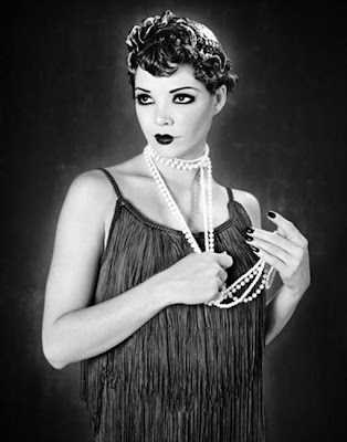 Flapper Hair, Flapper Hair Styles, Flapper Hairstyles