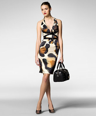 Leopard Dress on Narciso Rodriguez Dress  At Bergdorf Goodman