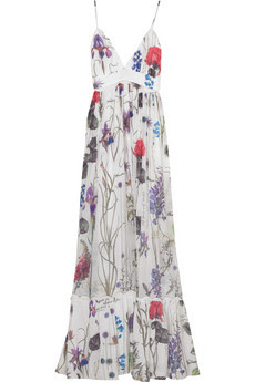 Floral Print Chiffon Dress Dresses - Compare Prices on Floral