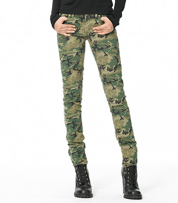 women skinny cargo pants