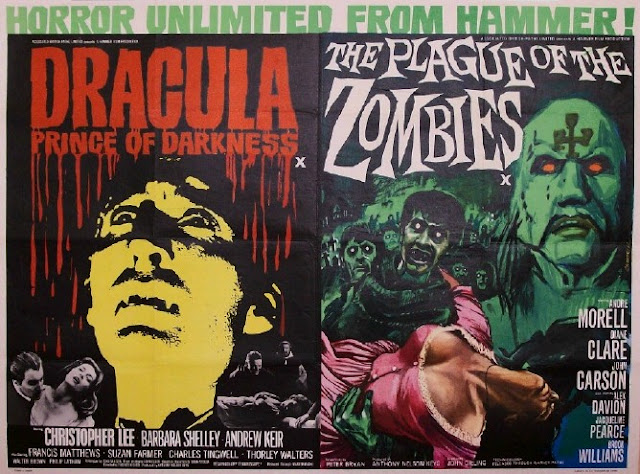 Hammer movie posters