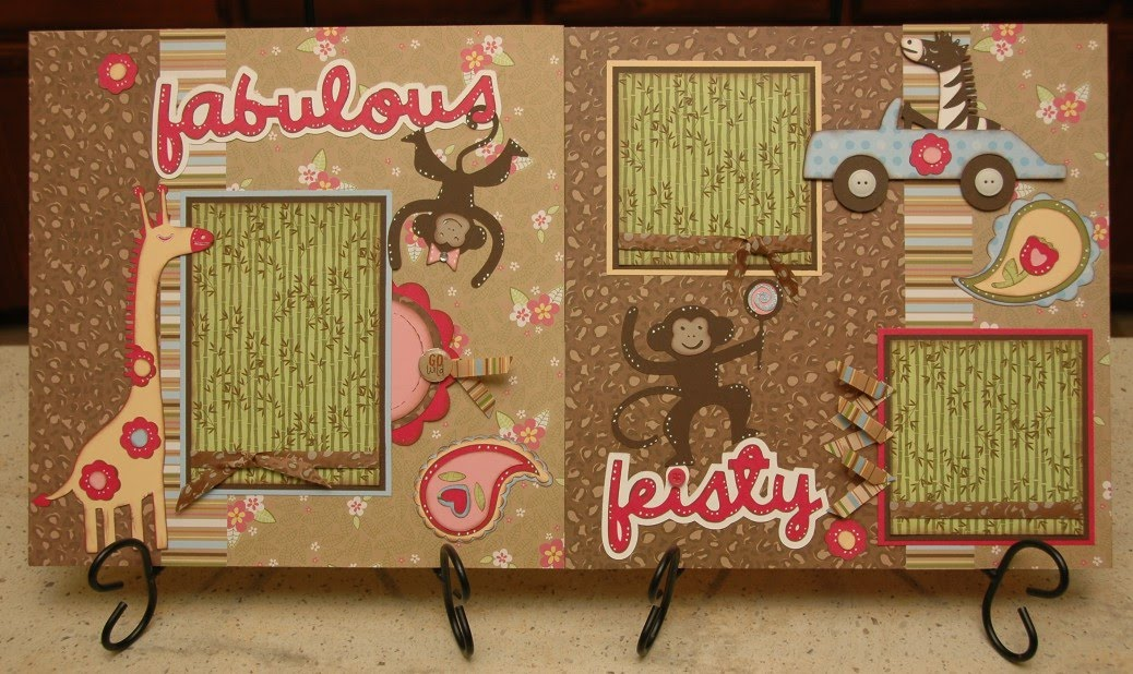 Fabulous & Fiesty Layout Kit