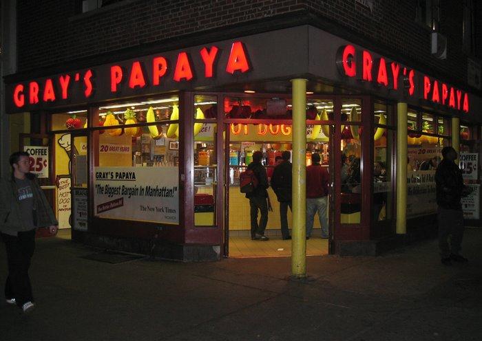 biz grays papaya new york