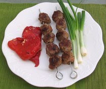balkanskebabs Balkan Meatball Shish Kebabs Recipe info