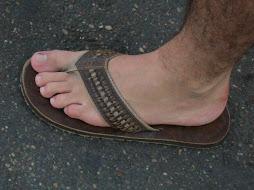 Simply feet...