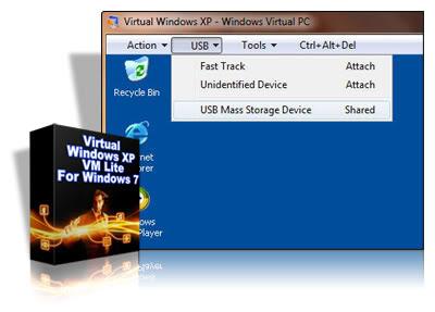 Virtual Windows XP VM Lite For Windows 7
