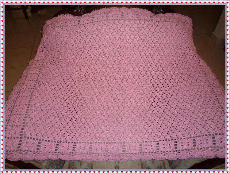 Cobijita bebe en rosa $ 350