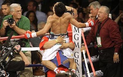 Pacquiao victory jump