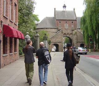 Entering Bruges