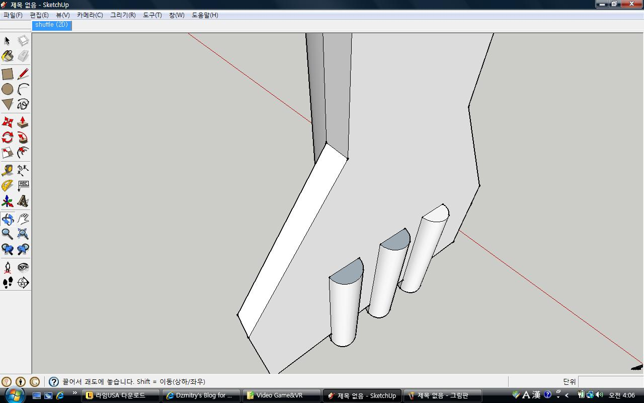 how to make space frame in sketchup
